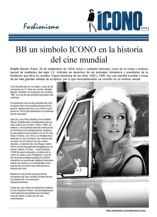 BB ICONO del Siglo XX