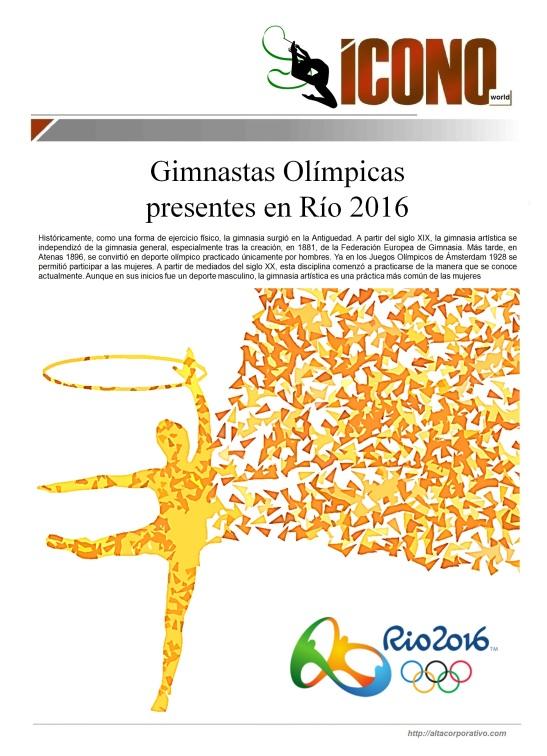 08 12 2016 Gimnastas RIO DE JANEIRO